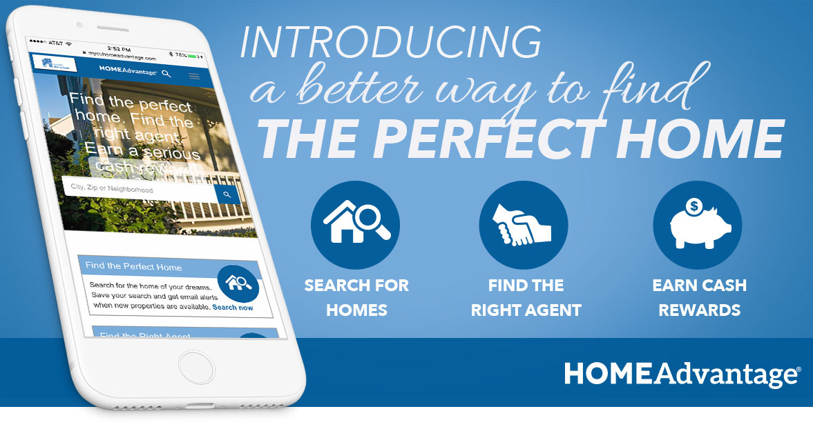 Introducing a better way to find the perfect home! Search for homes. Find the right agent. Earn cash rewards.