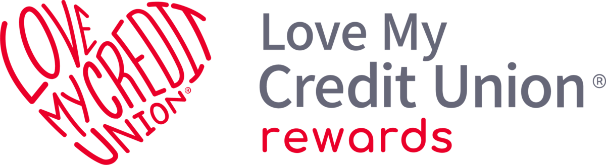 Love My Credit Union Stacked Logo